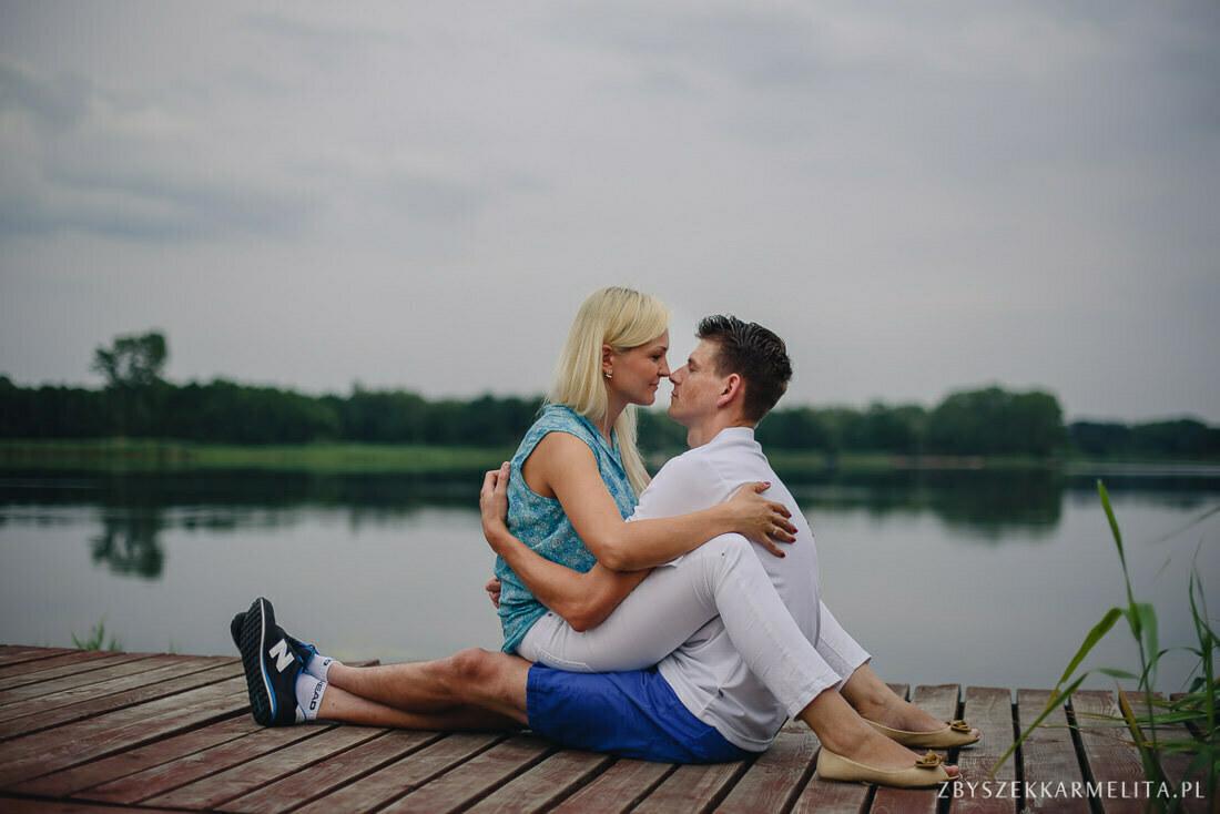 Sesja narzeczenska Ewa Konrad Jeziora Wielkie zbigniew karmelita fotografia konin 0001 -