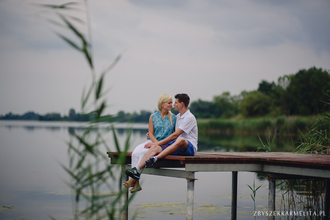 Sesja narzeczenska Ewa Konrad Jeziora Wielkie zbigniew karmelita fotografia konin 0004 -